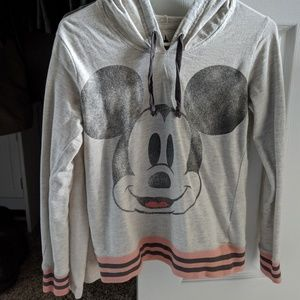 Disney Parks Mickey Mouse Long Sleeve Hoodie XS